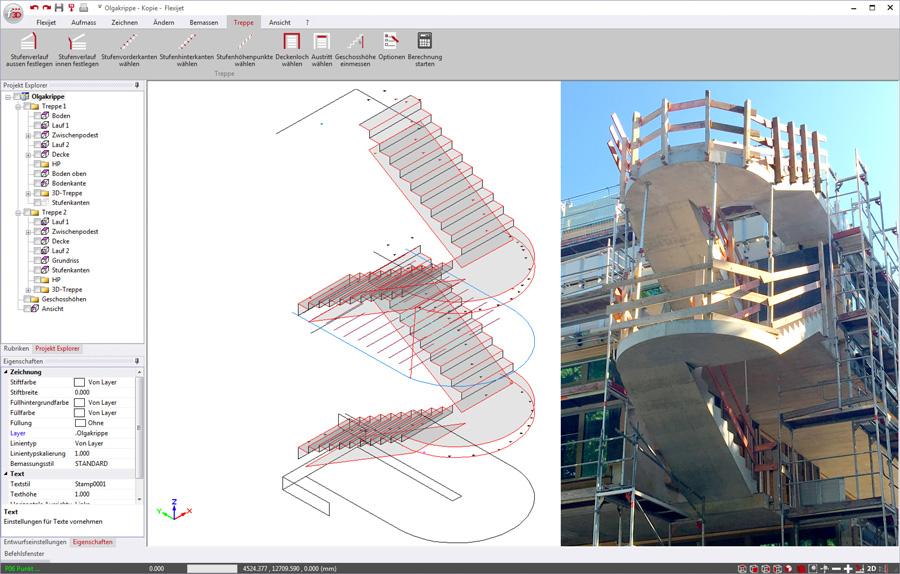 Treppenaufmaß – Metallbau